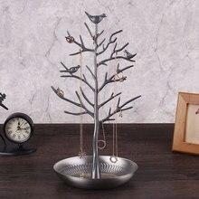 Jewelry Stand Bird Tree Holder Rack Earring Display Gift Multifunctional