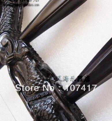 2016 Paracord Multicam Instruments de musique chinois de première qualité sculpté ébène Erhu arc à cordes livraison professionnelle