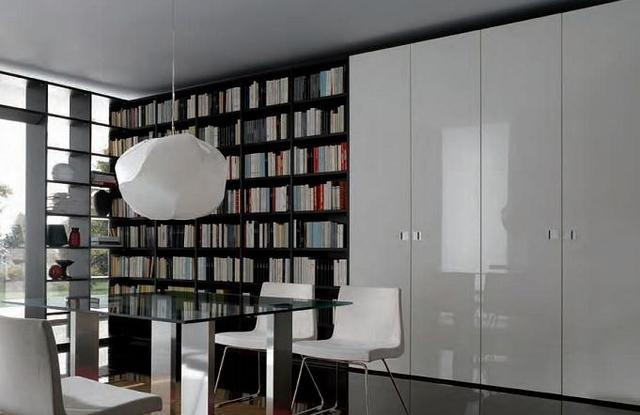 Bianco Mobili Camera Da Letto Con Libreria Scaffale
