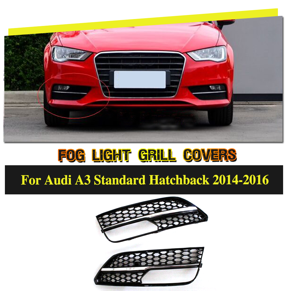 car styling abs fog light grill covers for audi a3 sportback rh aliexpress com Audi A3 Owner Manual Audi A3 TDI