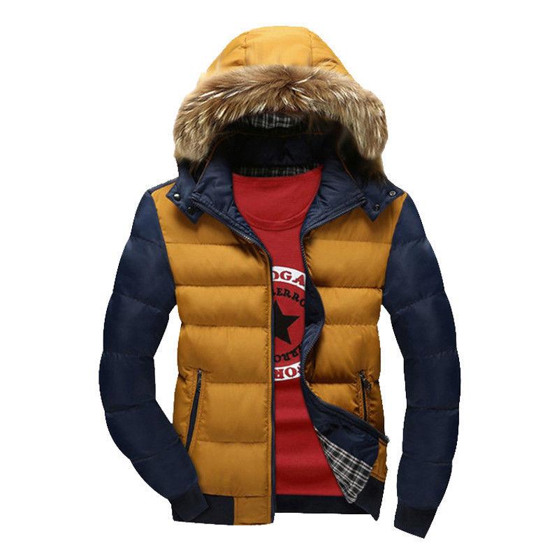ФОТО Thick Warm Hooded Men Winter Coat 2016 Hot Fashion Jacket Coat Men Parka High Quality Plus Size 22