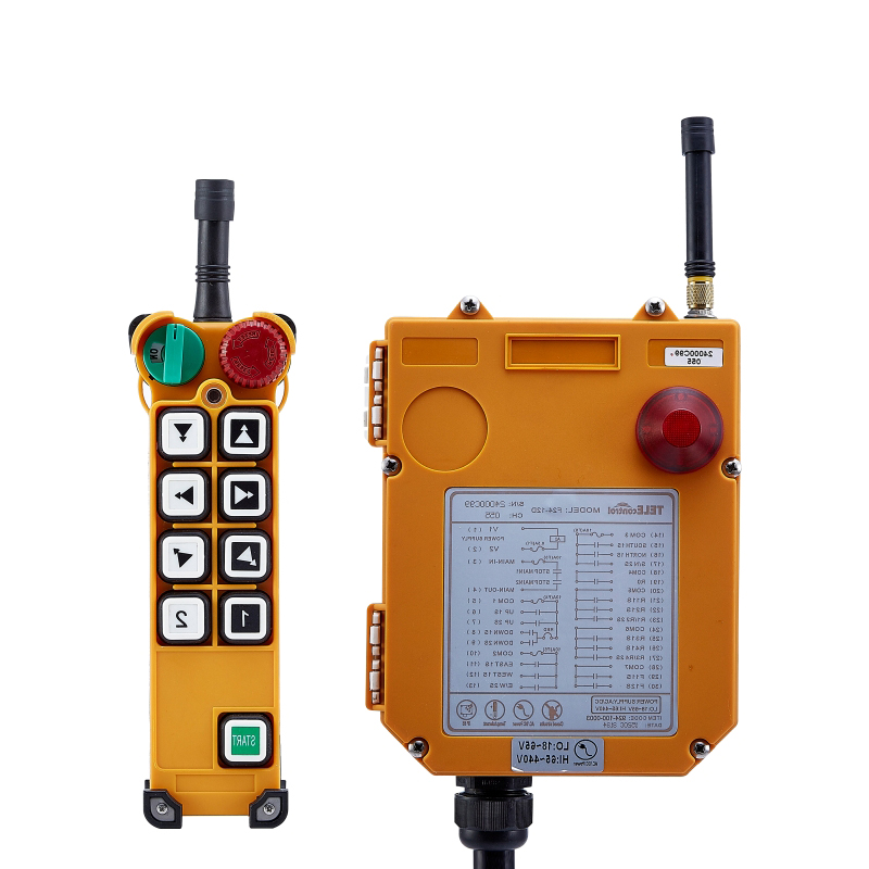 Switch F24-10D for hoist crane 1 transmitter and 1 receiver industrial wireless redio remote control Switches