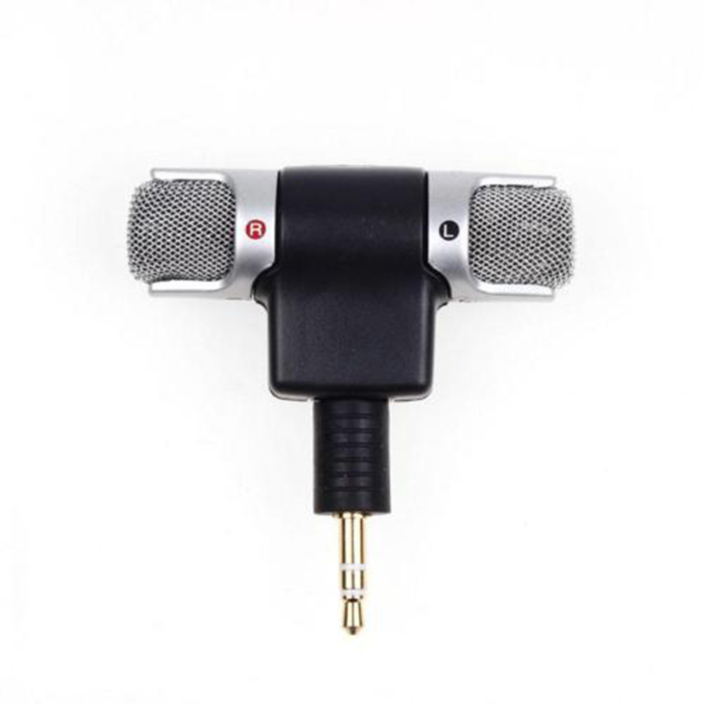 Mini 3.5mm Jack Cellphone Flexible Microphone Mic Mono Stereo Microphones For IPhone Android Smartphone