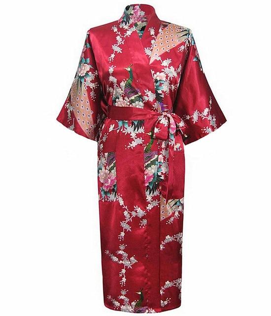 Burgundy Night Gown