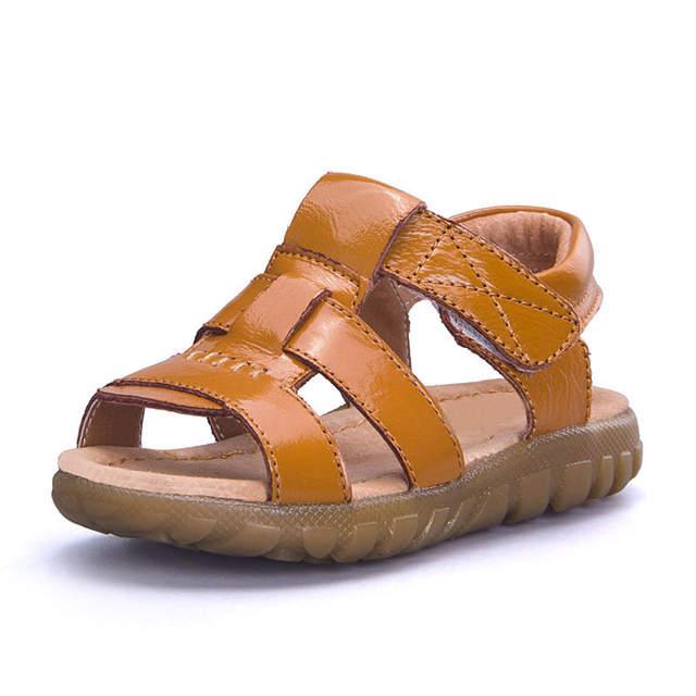 Kleinkind 36 ChaussuresJungen Us10 Enfants Größe Enfants 21 Csh337 Sandalen 78 Gute Qualität 10Off Sommer Baby In Leder EDHW9IY2