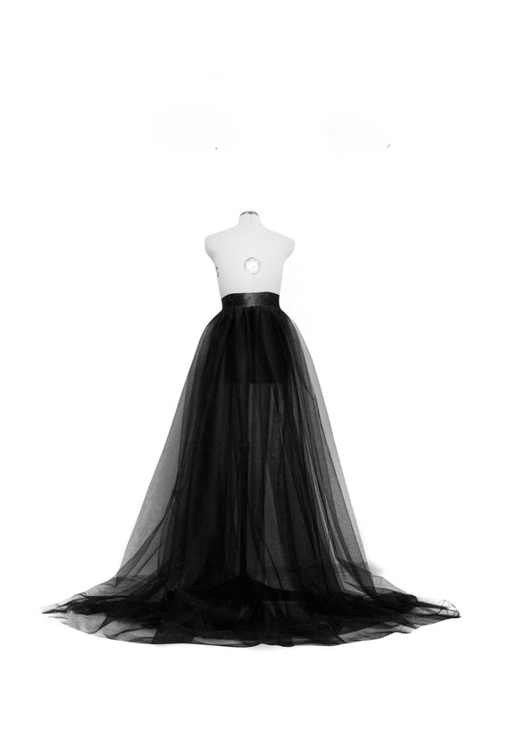 HTB1qW2YJ7PoK1RjSZKbq6x1IXXay - Hirigin Brand Sexy Elegant Chiffon Long Skirt Women A-line Tulle Tutu Long Skirt Wedding Party Prom Bandage Mesh Maxi Skirt