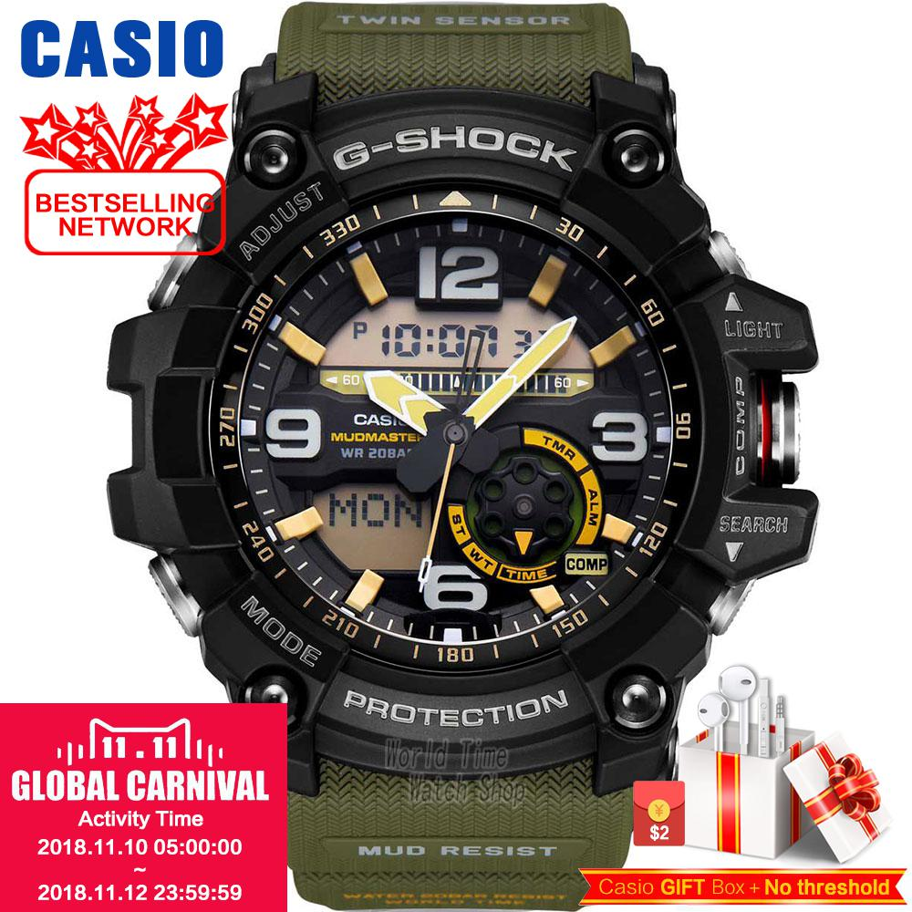Casio watch Double Sensation Double Display Sports Outdoor Male Watch GG-1000-1A3 GG-1000-1A5 GG-1000-1A GG-1000GB-1A casio gst w130bc 1a3
