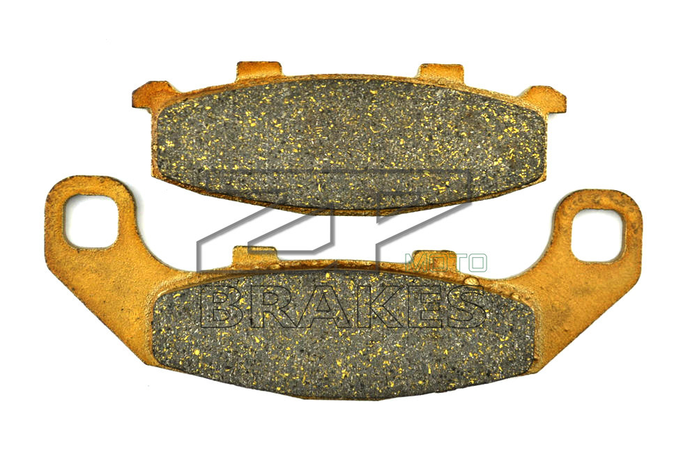 New Organic Brake Pads For Front KAWASAKI EX 500 E1-E3 1994-1996,GPZ 400 R 1989- Motorcycle BRAKING motorcycle front rear brake pads for kawasaki gpx 600 r zx600 1988 1996 gpx 750 r zx750 1987 1989 zr750 1991 1995 zx100 zx10 p04