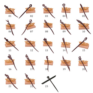 Свадебная деревянная заколка для волос простая модная китайская заколка для волос с животными птицами Ретро винтажный стиль заколки для волос для женщин и девочек