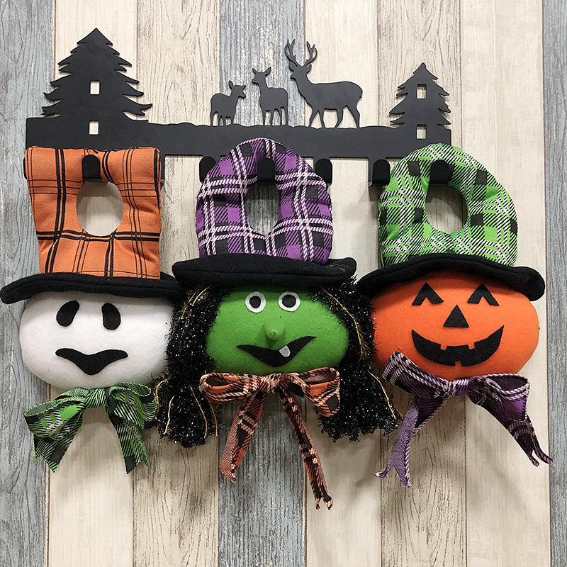 Halloween Party Decoration Supplies Hanging Pumpkin Witch ...