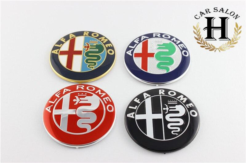 alfa romeo car logo. online shop 2pcs free shipping specials sale black white color 74mm 74cm alfa romeo car logo emblem badge sticker for mito 147 156 159 166 aliexpress alfa romeo 2