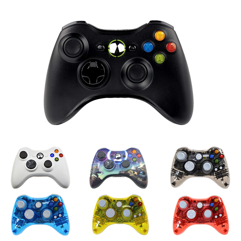 Wireless Controller For Microsoft Xbox 360 Computer PC Gamepad Controller Controle Mando For Xbox360 Joypad Joystick black white battery cover shell case kit for xbox 360 remote wireless controller joystick gamepad joypad