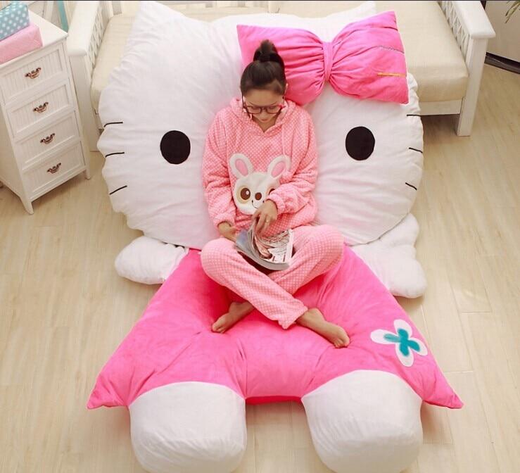 Pikachu Bedhello Kitty Bedfurniturefloor Chairbeanbag Tatami
