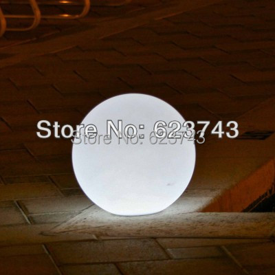 Free Shipping Magic RGB led Ball diameter 40 CM rechargeable,Glowing Sphere ,waterproof pool color changing LIGHT BALL BY EMS