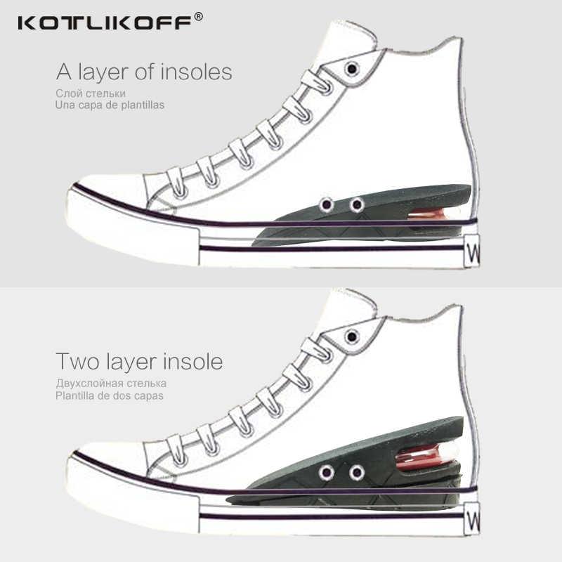 Kotlikoff Invisible Hoogte Toename Binnenzool Verstelbare 2 Layer 3 Cm/4.5 Cm Luchtkussen Pads Lift Zolen Inlegzolen Inserts voor Schoen