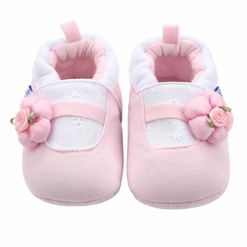 2019 baby girls shoes Lovely Cotton children shoes Soft Sole Infant Toddler bebe shoes