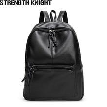 купить Women Backpack High Quality PU Leather Backpacks for Teenage Girls Female School Shoulder Bag Bagpack mochila feminina по цене 1909.65 рублей