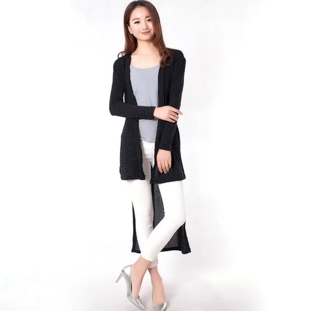 Женская длинный халат смокинг sytle вязание домашняя одежда халаты женский кардиган главная одежда для женщин тонкий длинный халат