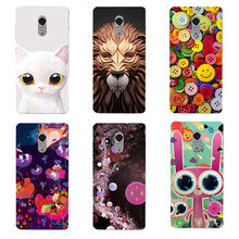 Cute Cartoon Case For Coque Lenovo Vibe P1M soft silicone Printing Back Cover for Lenovo Vibe P1M P1MA40 P1MA50 Case Capa(China)