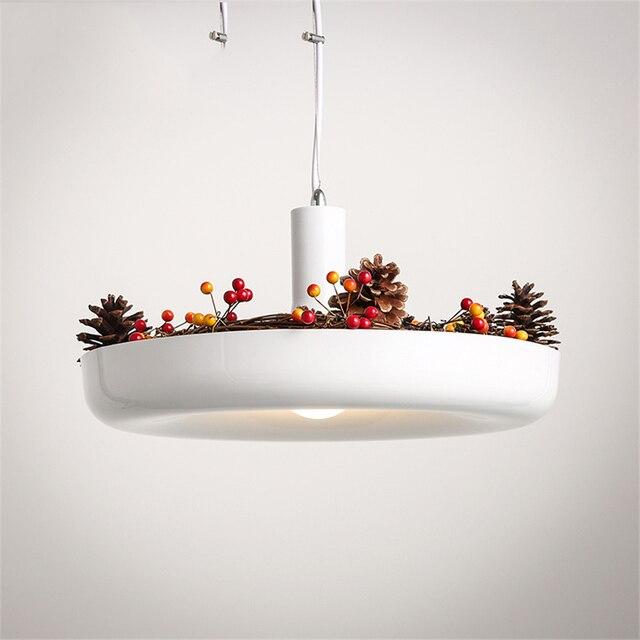 Современный свет завод горшок деко Лофт подвесные светильники подвесные лампы свисающая Люстра для столовой светильник с креплением офис кухня свет