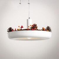 Modern Light Plant Pot Deco Loft Pendant Lights Shade Pendant Lamps Dining Hanging Light Fixture Luminaire Office Kitchen Light