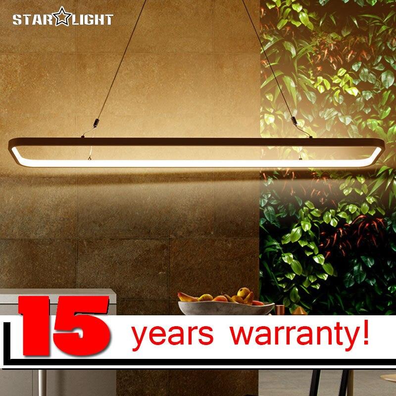 원격 원 사각형 링 현대 Led 펜던트 조명 식사 룸 라운드 테이블 Led 펜던트 램프 알루미늄 서스펜션 램프