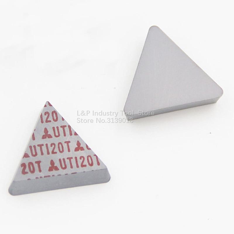 100 New Original Japan TPMN160308 UTI20T Milling Carbide Inserts TPMN 160308 UTI20T CNC Tool