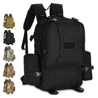 50L Waterproof Field Pack Luggage Backpack Tactical Bag Sports Knapsacks Hiking Camping Backpack Military Equipment Men S409