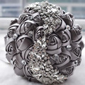 Free Shipping Wedding Bouquet Brooch bouquet wedding accessories Bridesmaid artifical Wedding flowers Bridal Bouquets 2