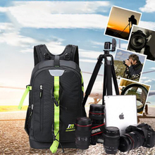 Camera Backpack Waterproof multi-functional Digital DSLR Camera Bag Video Nylon for Photographer Bags 2017 Fashion Laptop