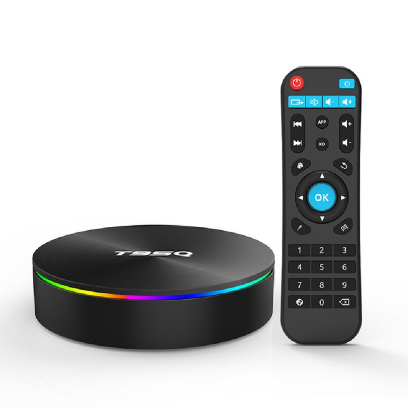 T95Q Smart Android TV Box Android 9.0 4K Android Box 4GB RAM 32 GB/64 GB ROM Amlogic S905X2 2.4 & 5Ghz WIFI BT4.1 USB 3.0 HDR H.265