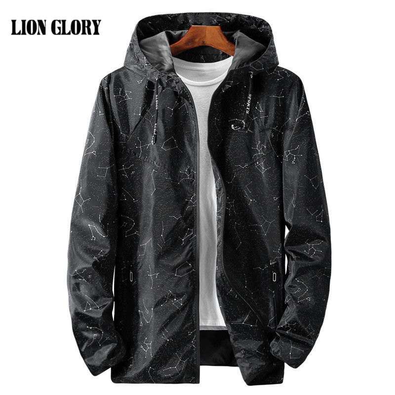 Autumn Men Jacket Outdoor Casual Coat Windbreaker Chaqueta Hombre Autumn Hooded Jacket Manteau Homme Large Size Clothing 8XL 9XL