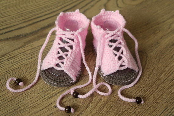Outlet New Pretty cute Handmade Crochet Baby Shoes Newborn Knit Wool shoes SIZE 0-12M