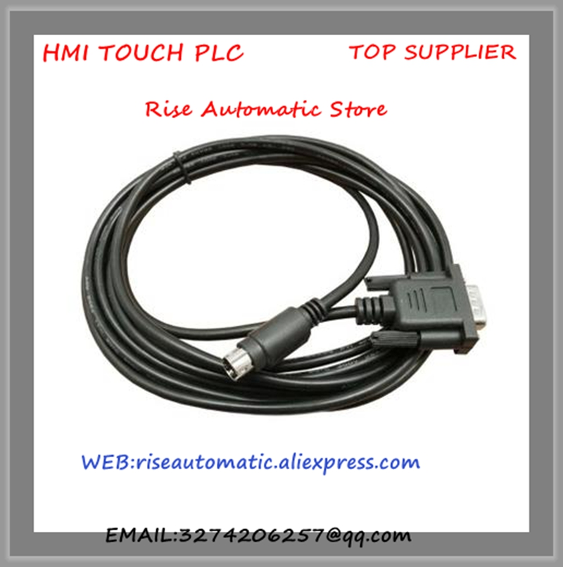 DVPACAB2A30 câble de programmation PLC câble de téléchargement DVP longueur du câble de données de 3 mètres