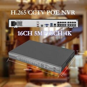 Image 3 - Gadinan H.265 16CH 5MP POE NVR système de vidéosurveillance 5MP 335E 3MP 2MP 1080P micro Audio POE caméra IP P2P Kit de Surveillance vidéo