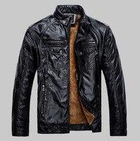 2016 Spring Mens Pilot Motorcycle Jacket Fleece Bomber Jackets Brand Clothing Epaulet Biker Army Coat Veste