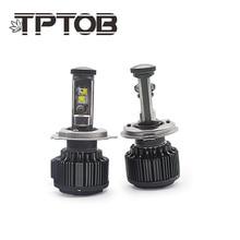 TPTOB Auto Car Headlight Bulbs T6 H4 H7 H11 H1 CSP LED 9005/HB3 9006/HB4 H13 9004 9007 H3 8000Lm Fog Lights White 6000K 12V 24V 2x auto led lights car headlight conversion kit bulb h1 h3 h4 h7 h11 h13 880 9005 hb3 9006 hb4 led car fog light bulbs 12v 24v