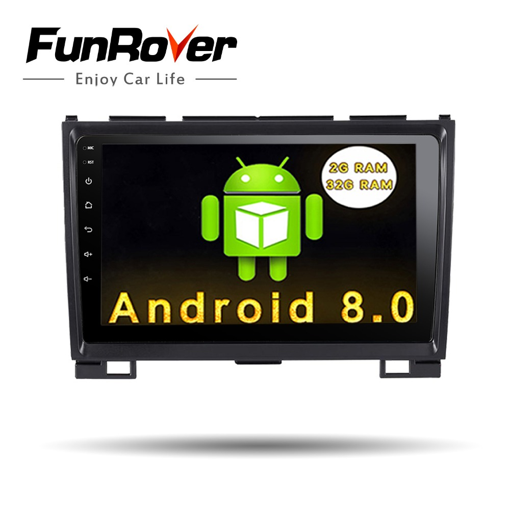 Funrover 9 2 din Android 8.0 Car Radio Multimedia dvd player gps for Great Wall Haval H3 H5 2010-2013 glonass wifi fm Quad Core funrover 9 2 din android 8 0 car radio multimedia dvd player gps for great wall haval h3 h5 2010 2013 glonass wifi fm quad core