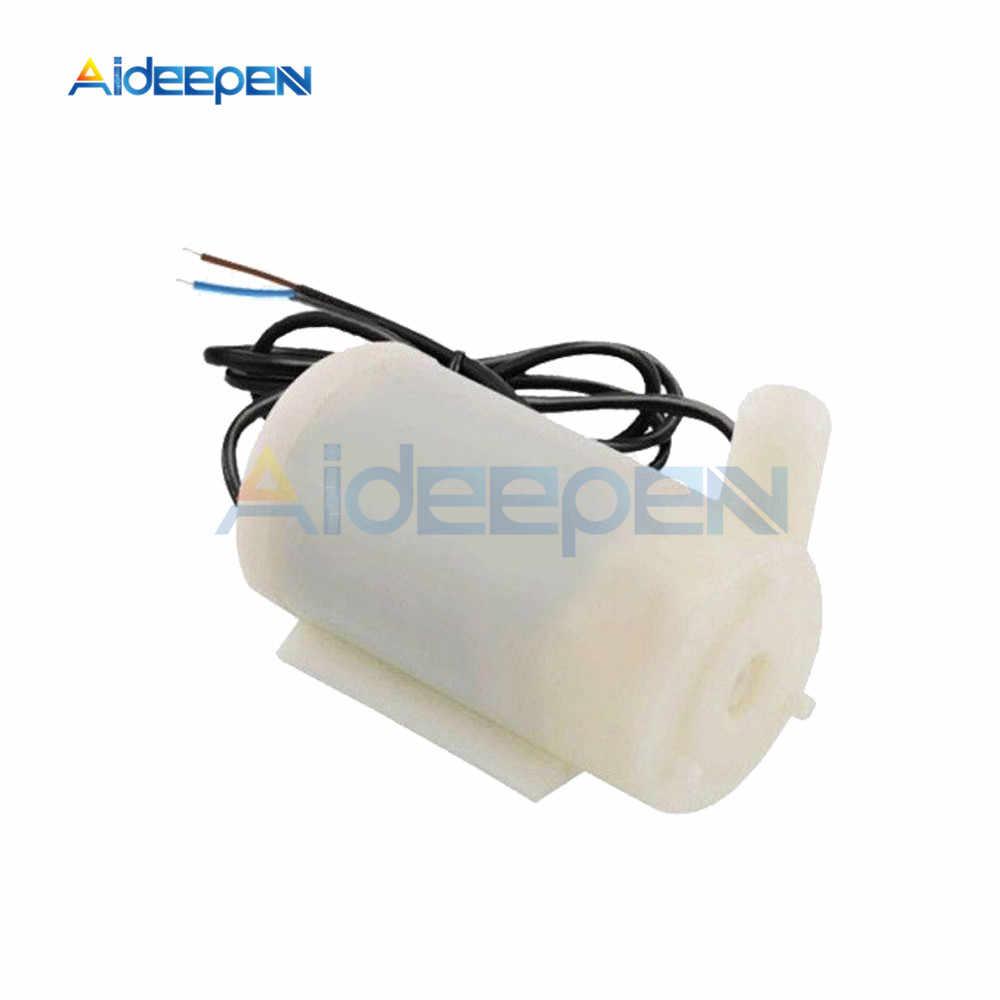Mini Micro Tauch Wasserpumpe 100L/H DC 3V 5V Geräuscharm Bürstenlosen Motor Pumpe horizontale vertikale 1m weichen schlauch