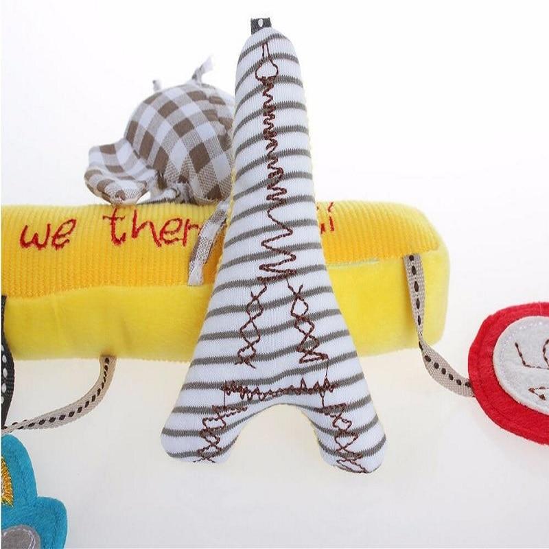 Baby Musical Crib Mobiles Leker Hanging Cartoon Toy Barnevogn Bird - Baby og småbarn leker - Bilde 4