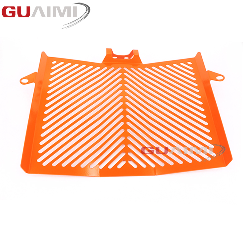 For KTM 1050 1190 1290 Adventure 2013-2017 Radiator Grille Guard Cover Protector motorcycle radiator grille grill guard cover protector golden for kawasaki zx6r 2009 2010 2011 2012 2013 2014 2015