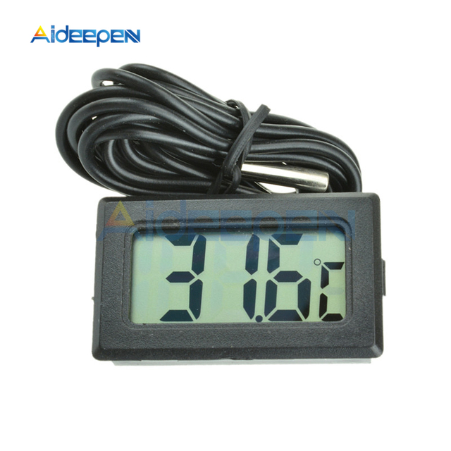 -50~110 degree LCD Digital Thermometer Temperature Controller for Freezer Temperature  Refrigerator Thermometer Indoor Outdoor