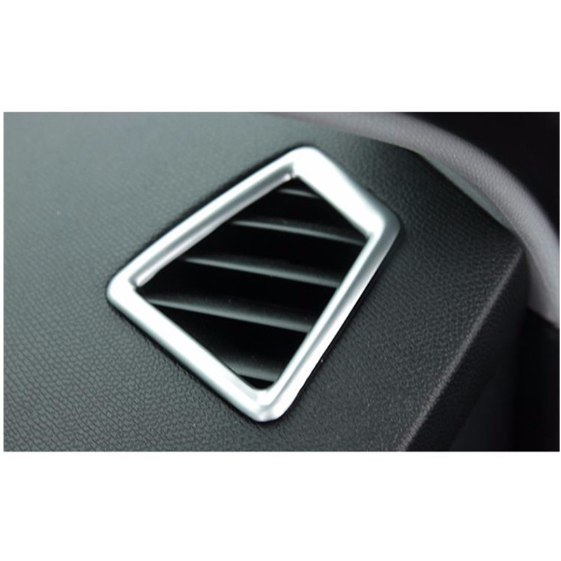 ABS Chrome instrument LR Air-conditioning Outlet Cover Car Accessories For <font><b>Peugeot</b></font> <font><b>308</b></font> T9 <font><b>SW</b></font> Rear View 5door <font><b>2015</b></font> 2016 image