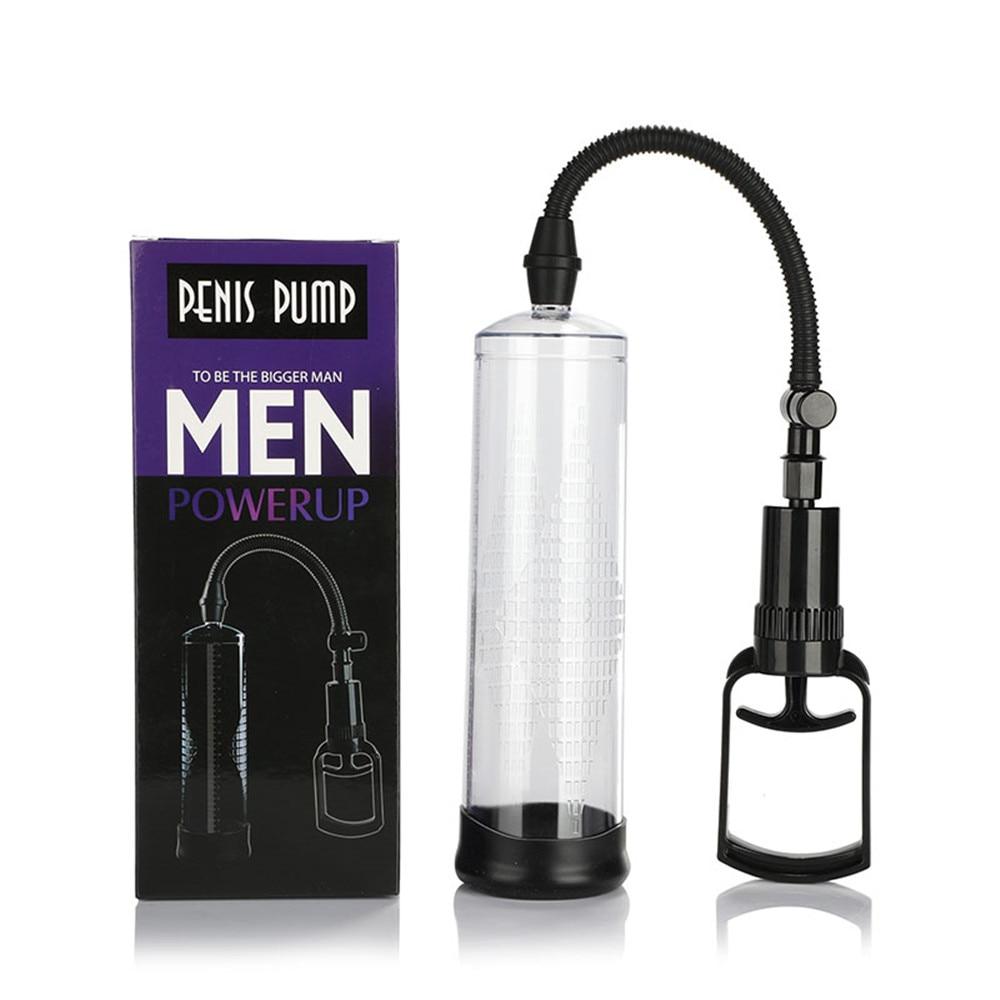 Sex Toys Penis pump penis Vacuum Enlarger Extender Masturbator Ejaculation Delay Vibrators Adult Product Sex Toy For Man Couples (10)