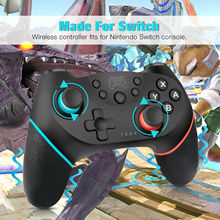 Get more info on the Black Wireless Pro Controller Gamepad Joypad Remote for Nintendo Switch Console