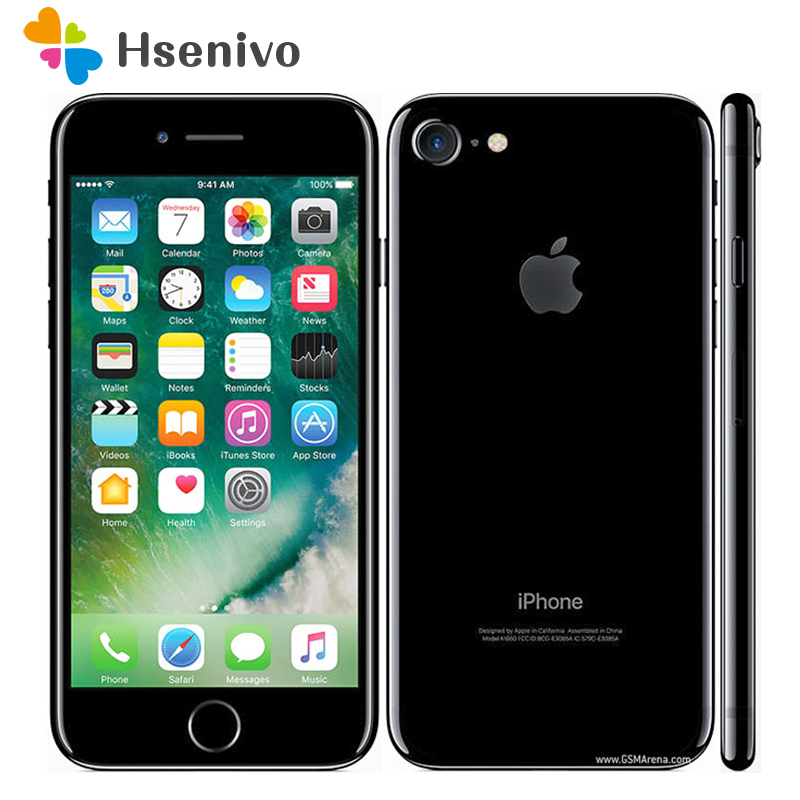Hot Sale Unlocked Original Apple IPhone 7 4G LTE Cell Phone 32/128GB/256GB IOS 10 12.0MP Camera Quad-Core Fingerprint 12MP