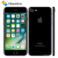 Hot sale Unlocked Original Apple iPhone 7 4G LTE Cell Phone 32/128GB/256GB IOS 10 12.0MP Camera Quad Core Fingerprint 12MP