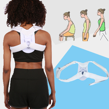 FULI upper back posture braces support clavicle with spine lumbar correction