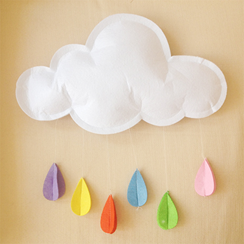 2017 Accessories Photographie Baby Lovely Newborn Photography Props Clouds Raindrop Style Fotografie Achtergronden Baby Costume