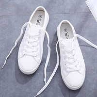 Vulcanize Summer Sneakers Women Trainers White Sneakers Leather&Canvas Shoes Tenis Feminino Classic Casual Cotton Zapatos Mujer
